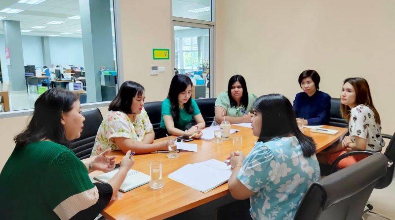 ประชุมเปิดตรวจ ณ กองการเจ้าหน้าที่ สำนักงานอธิการบดี